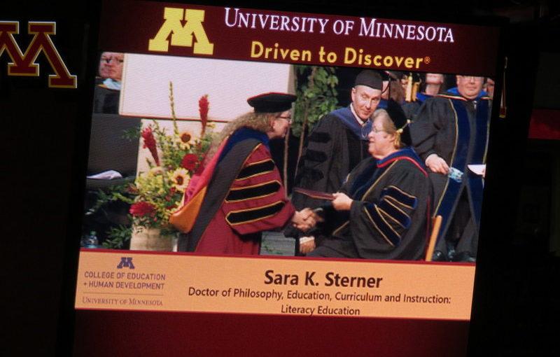 Dr. Sara K. Sterner's Graduation
