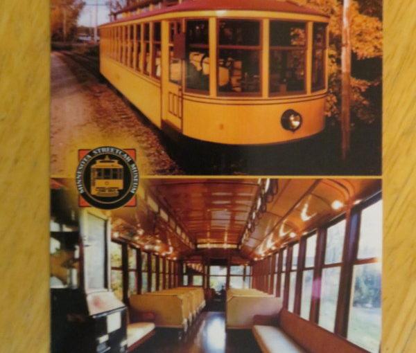 SKS Postcards: coffee promo and Minnesota Streetcar Museum