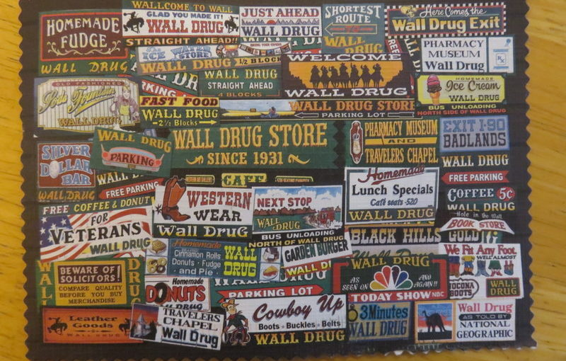 SKS Postcard: Wall Drug