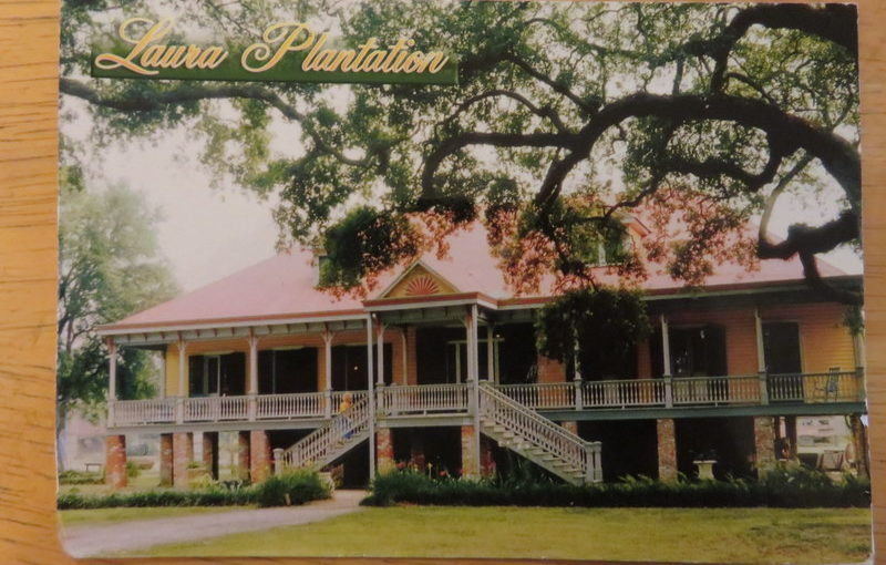 Postcard from Laura Plantation