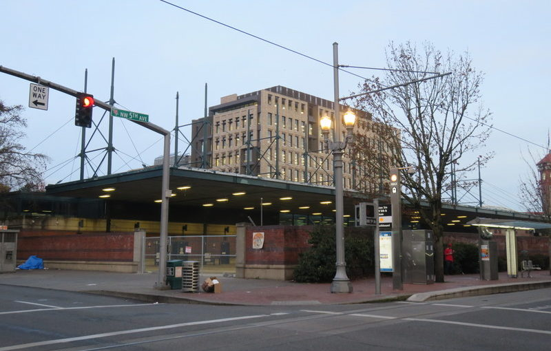 End of the bus station