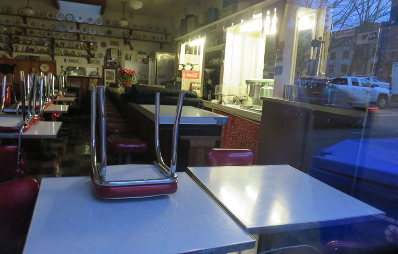 The End of Byways Cafe. Another Portland Classic Shuttered