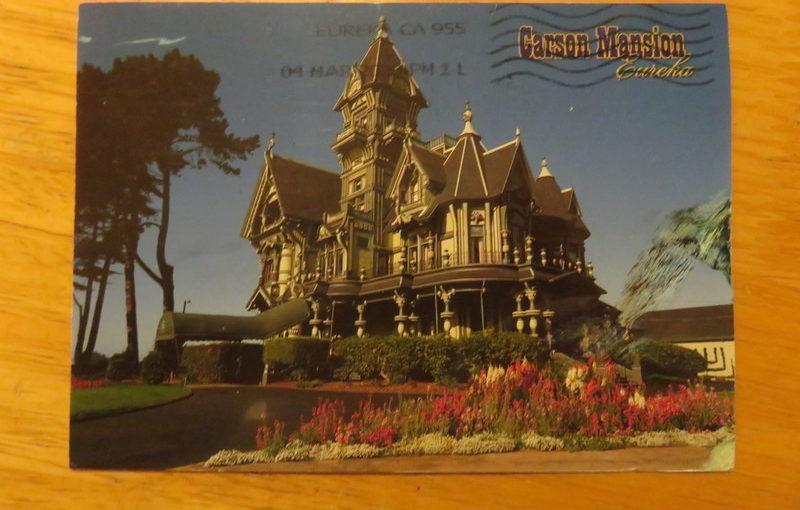 SKS Postcard Carson Mansion