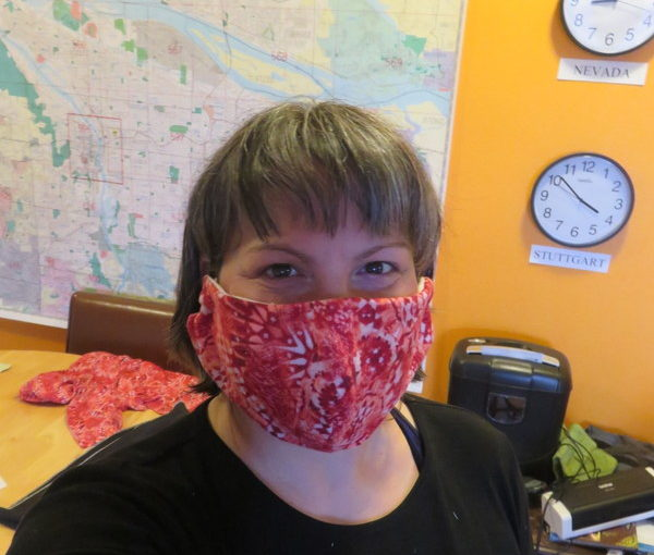 Home Sewing Skills: I Make Masks