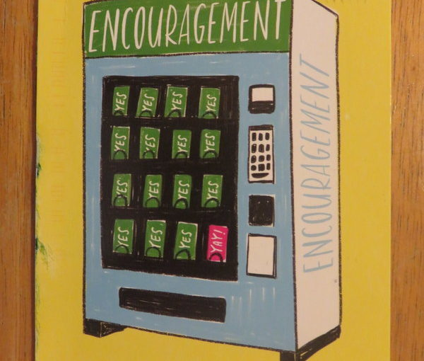 SKS Postcard: Encouragement