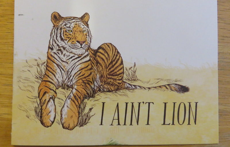 SKS Postcard: Lion Puns