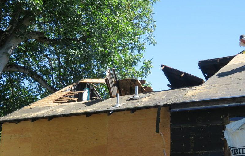 Progress Repairing the Oregon Motel