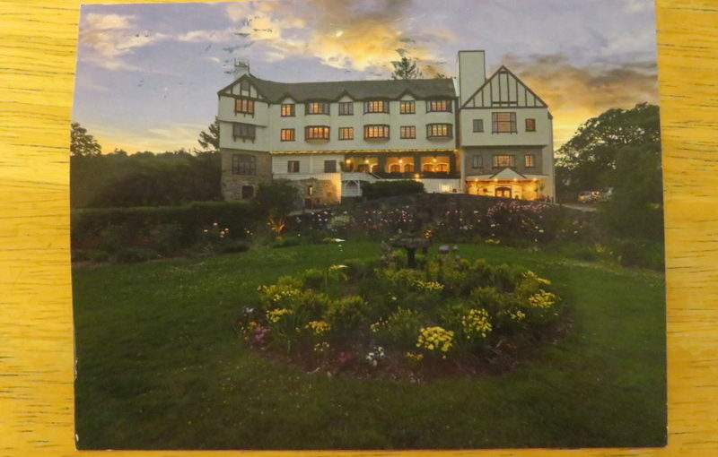 SKS Postcard: Benbow Historic Inn