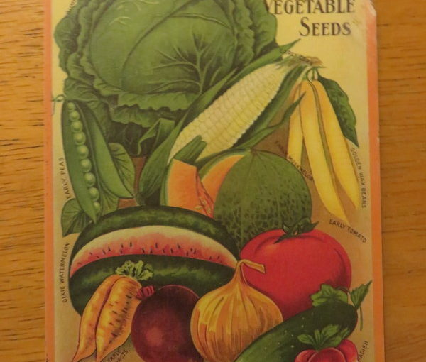 SKS Postcard: Vegetable Seeds