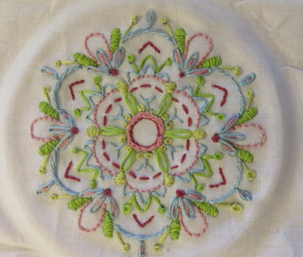 An Embroidery Report