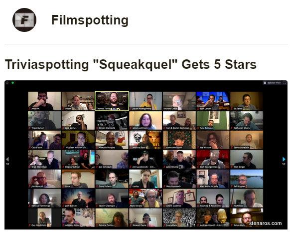 Filmspotting's Triviaspotting Event